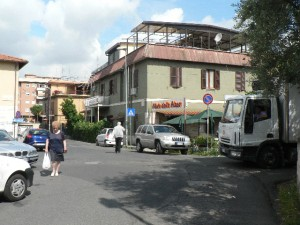 Foto del 2008, Piazza Alenda.