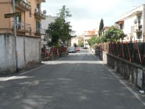 Foto del 2008, mostra ancora via di Carcaricola.