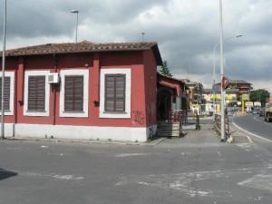 Foto del 2008, ex Dazio sulla via Casilina.