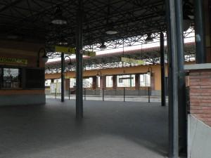 Foto del 2008, stazione di Torrenova della Metro C.