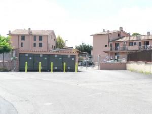 Foto del 2008, la fine di via Carcaricola, proprio in questo punto era situata la Tenuta di Parmigiani.