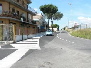 Foto del 2008, via del Fontanile di Carcaricola.