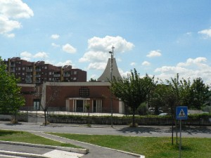 Foto del 2008, Parrocchia di San Gaudenzio a Torrenova.