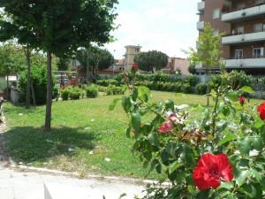 Foto del 2008, angolo dei giardini pubblici.