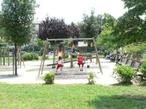 Foto del 2008, i giardini pubblici.