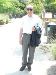 Foto del 2008, Francesco Mirruzzo, il suo costante impegno sociale e religioso dedito alla crescita del nostro Quartiere