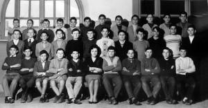 Foto anni 60, Scuola F. Baracca a Torpignattara, in questa foto ci sono diversi allievi di Giardinetti e Torrenova.