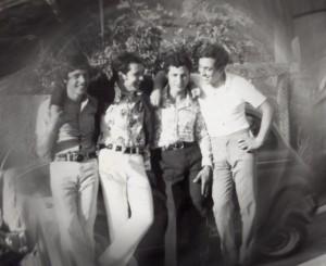 Foto del 1970, Erminio SCIPIONI, Felice MAGGI, Erminio MARCHETTI e Francesco MIRRUZZO.
