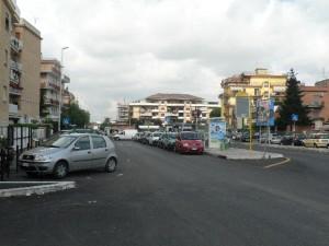 Foto del 2008, altra veduta di Largo Raimondi.