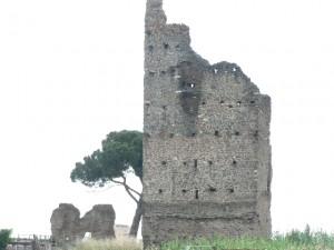 Foto del 2008, delle Torri, alla fine di via dei Ruderi di Torrenova.