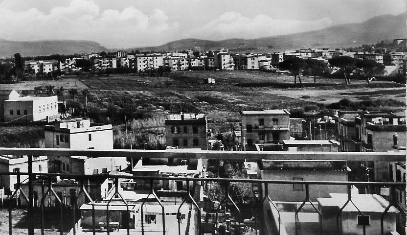 Foto anni 60, panoramica della tenuta.
