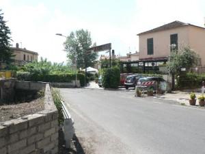 Foto del 2008, via della Massa Calciana, dove è ubicato il ponte del II secolo a. C. è il manufatto più antico del nostro territorio.