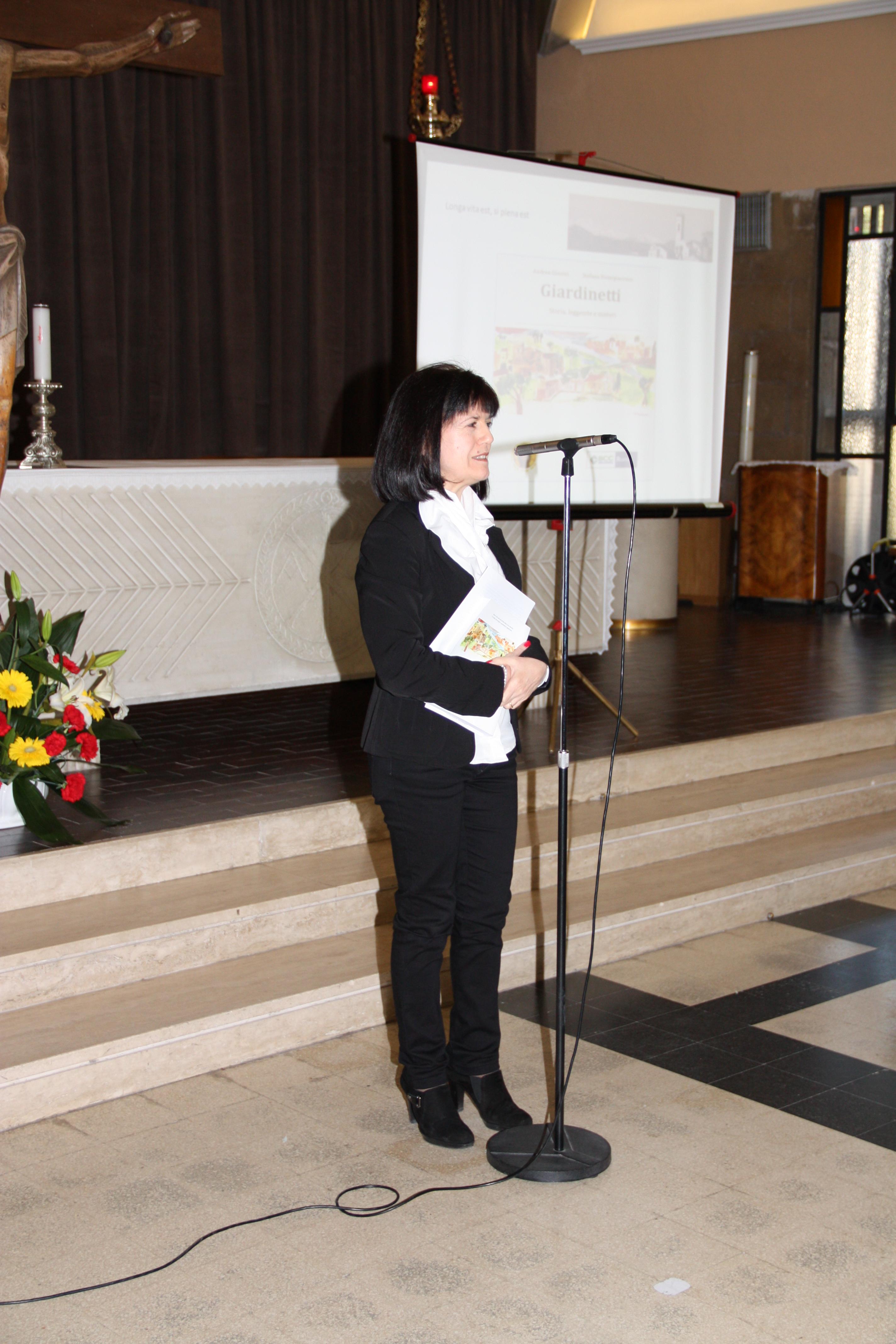 La professoressa Maria Laura Fanti