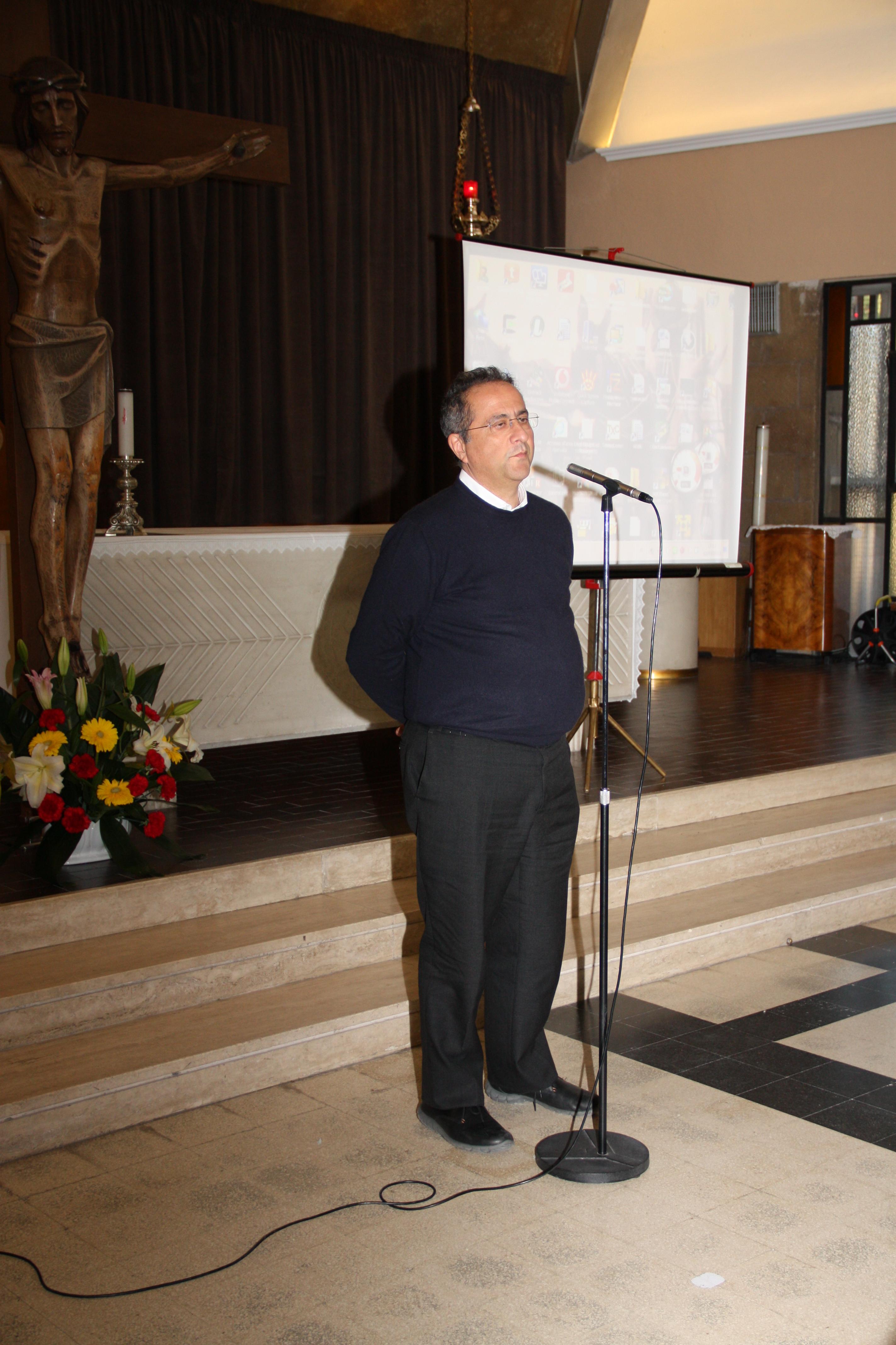 Il prof. Maurizio Talamo